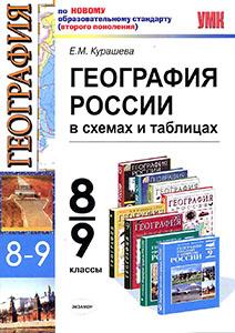 География России в таблицах и схемах для ЕГЭ, Е.М. Курашева